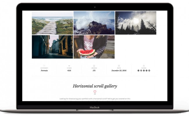 A new photography theme coming soon